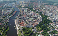 Arial view of Bremen
