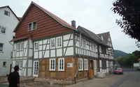 Specimen half-timbered house, Wanfried