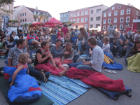 Open-Air-Kino am Salzstadel
