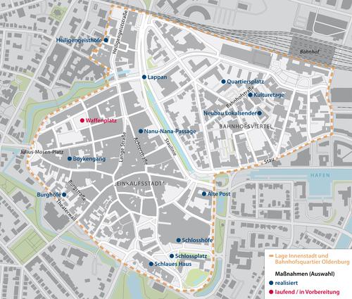 Fussgangerzone Oldenburg Karte.Nationale Stadtentwicklungspolitik Werkstatt Stadt